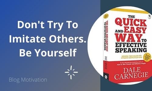 Read more about the article The Quick and Easy Way to Effective Speaking – Book Summary